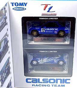 TL SET CALSONIC RACING TEAM WHIGT Box 02